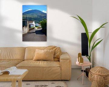 Insel Pico Azoren Straße sur Jan Brons