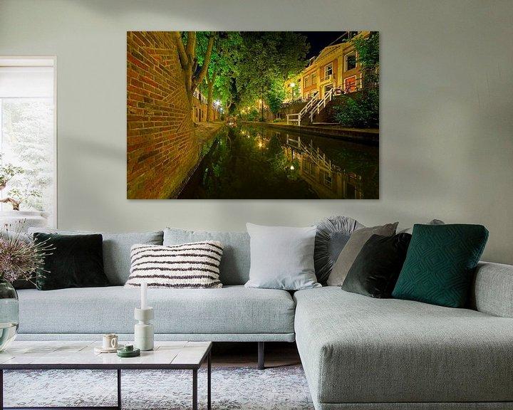 Sfeerimpressie: Grachtenpand te Utrecht van Anton de Zeeuw