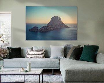 Sonnenuntergang Es Vedrà, Ibiza von Capture the Light