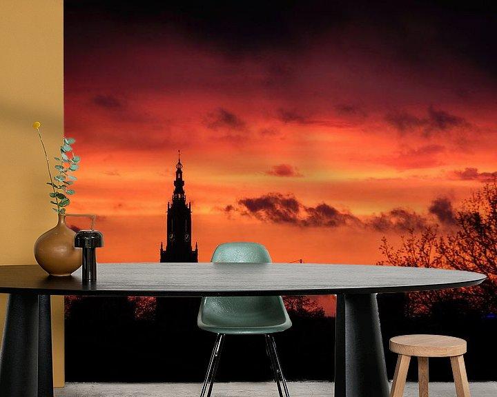 Impression: Amersfoortse zonsondergang sur Sjoerd Mouissie