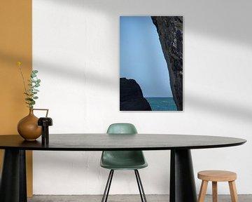 La côte rocheuse de l'océan Indien