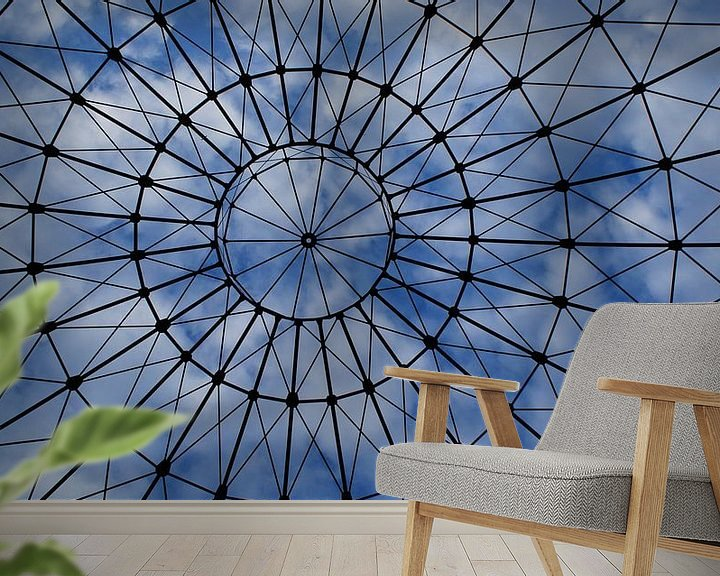 Beispiel fototapete: cloud cage von Tina Hartung