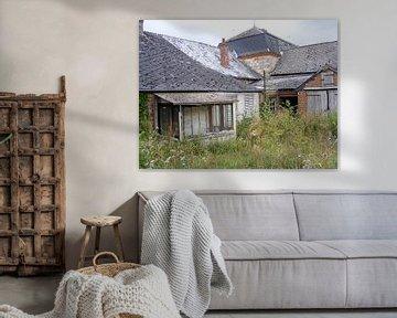 verlaten huis van Mirjam van Ginkel