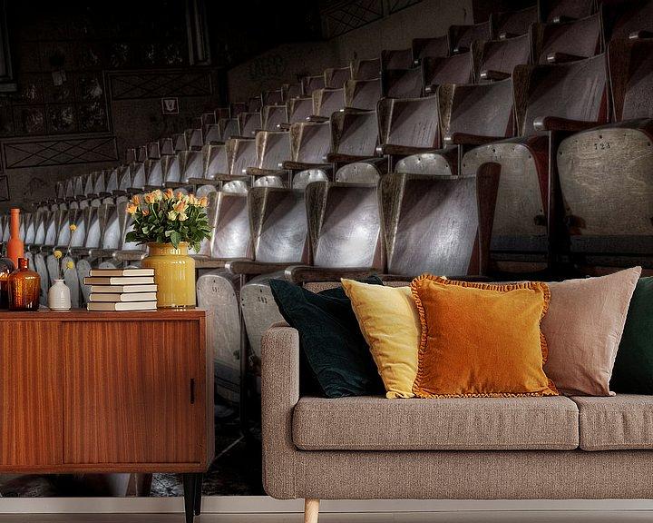 Beispiel fototapete: Leere Stühle.... von Eus Driessen