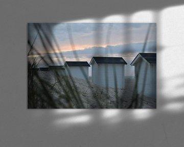 Strandhuisjes van Suzan (Suus) Buskes