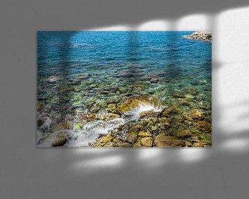 Rotsen in zee van Ellen Denkers-Hartman