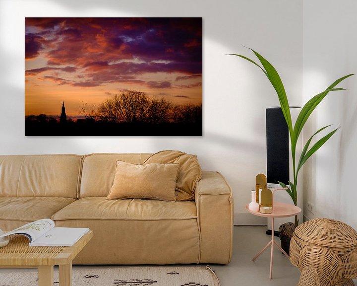Beispiel: Amersfoortse zonsondergang von Sjoerd Mouissie