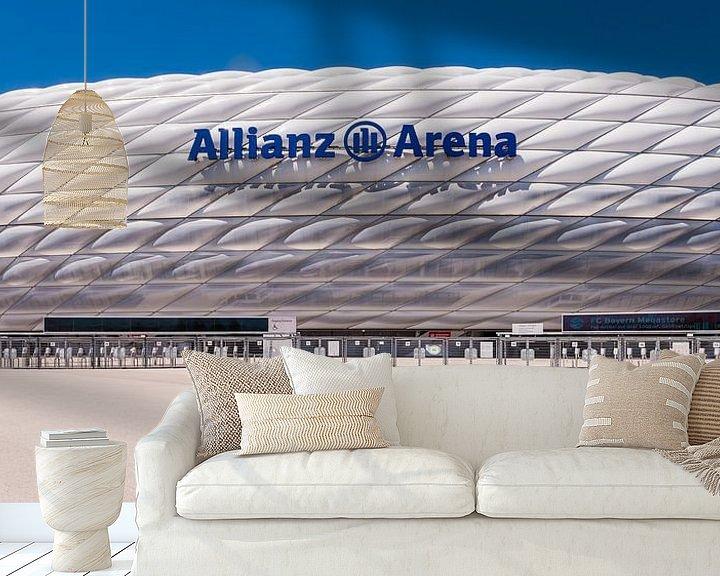 Beispiel fototapete: Allianz Arena, München von John Verbruggen