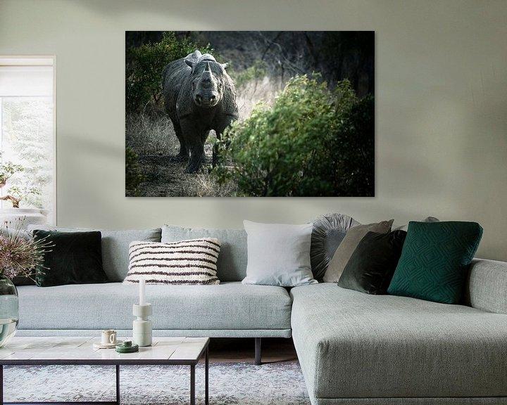 Sfeerimpressie: Black Rhino van Jasper van der Meij
