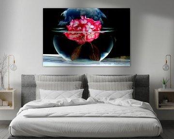 Blume Wasserkunst von Jeffry Clemens