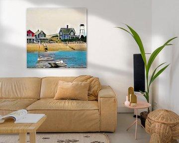 Beach houses von L.J. Lammers