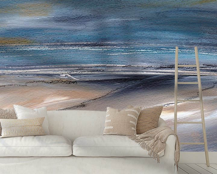 Sfeerimpressie behang: Nordsee van Katarina Niksic