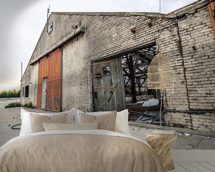 Beispiel fototapete: Voormalig betonfabriek Spaansen te Harlingen von Lisette Breur