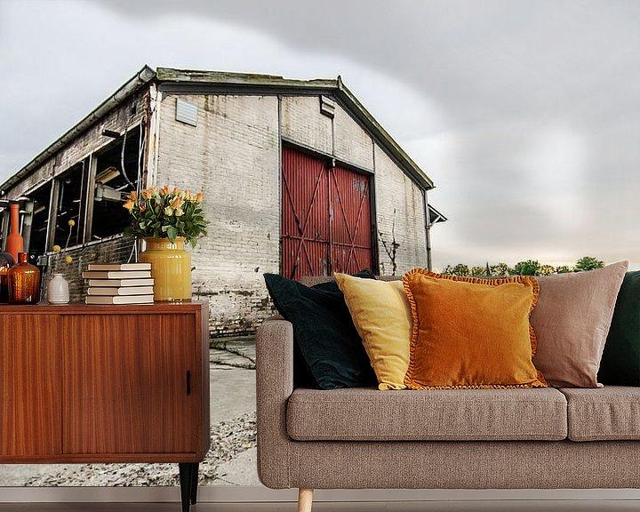 Beispiel fototapete: Voormalig betonfabriek Spaansen te Harlingen. von Lisette Breur