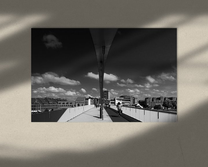 Beispiel: Hoge brug Maastricht von Leo Langen