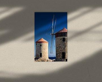 greek windmill van Jana Behr