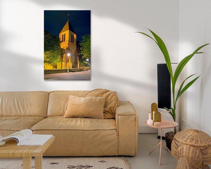 Sfeerimpressie: Dorpskerk Spijkenisse van Anton de Zeeuw