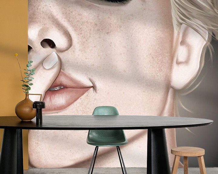 Sfeerimpressie behang: Plezier van Kim Verhoef