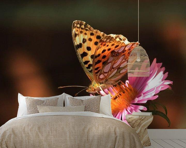 Sfeerimpressie behang: butterfly van Klaus-Dieter Schulze