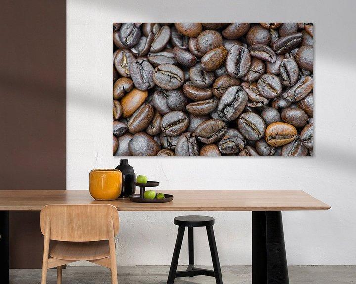 Sfeerimpressie: Koffiebonen van Daan Kloeg