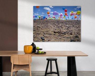 Day in the desert van Marieke Heins