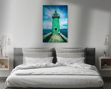 Leuchtturm Normandie