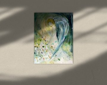 Engel - abstracte van Christine Nöhmeier