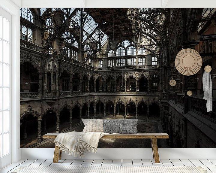 Sfeerimpressie behang: Chamber of Commerce - Antwerpen van Ivo de Bruijn