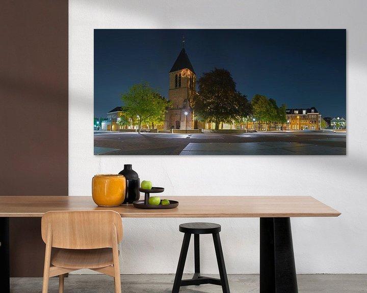 Sfeerimpressie: Panorama Dorpskerk Spijkenisse van Anton de Zeeuw