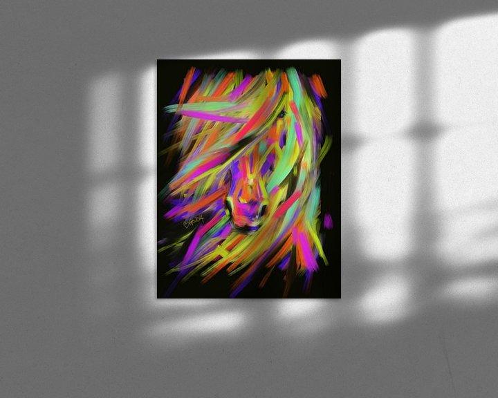 Sfeerimpressie: Paard Rainbow Hair van Go van Kampen
