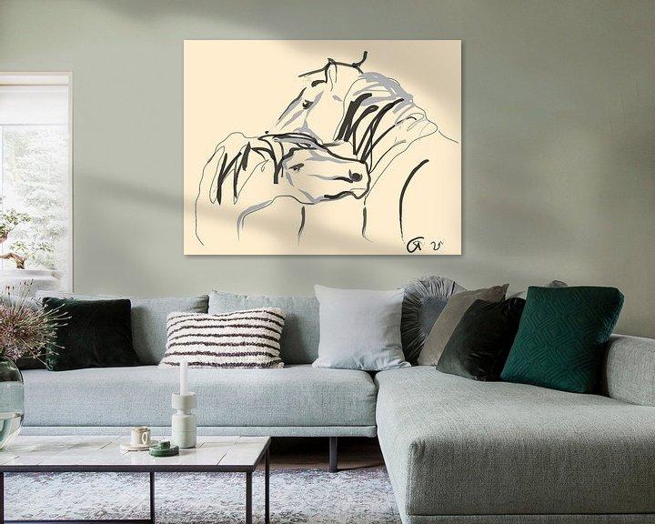 Sfeerimpressie: Paarden Together 4 van Go van Kampen