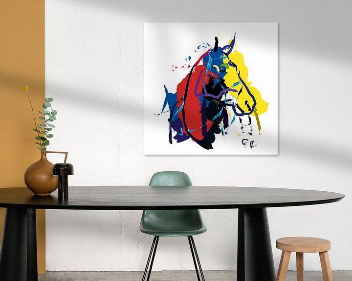 Sfeerimpressie: Paard Zam van Go van Kampen