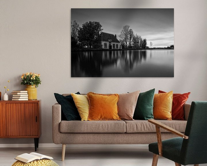 Sfeerimpressie: Reflecties / Veerhuis / Overschie / Rotterdam van Rob de Voogd / zzapback