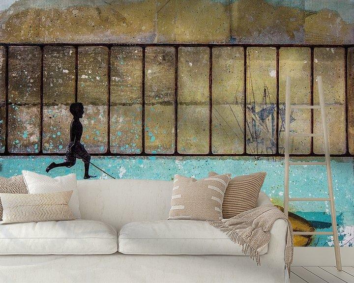 Sfeerimpressie behang: GOOD COMPAGNON van db Waterman