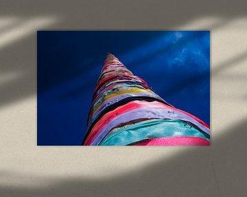 Kleuren in de lucht van Onno van Kuik