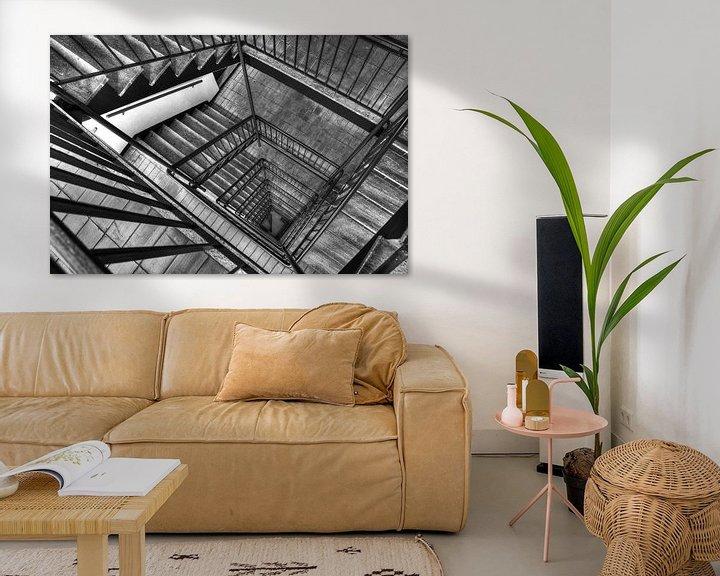 Sfeerimpressie: I'm a staircase! van Rob de Voogd / zzapback