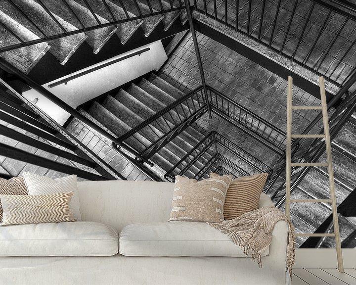 Sfeerimpressie behang: I'm a staircase! van Rob de Voogd / zzapback