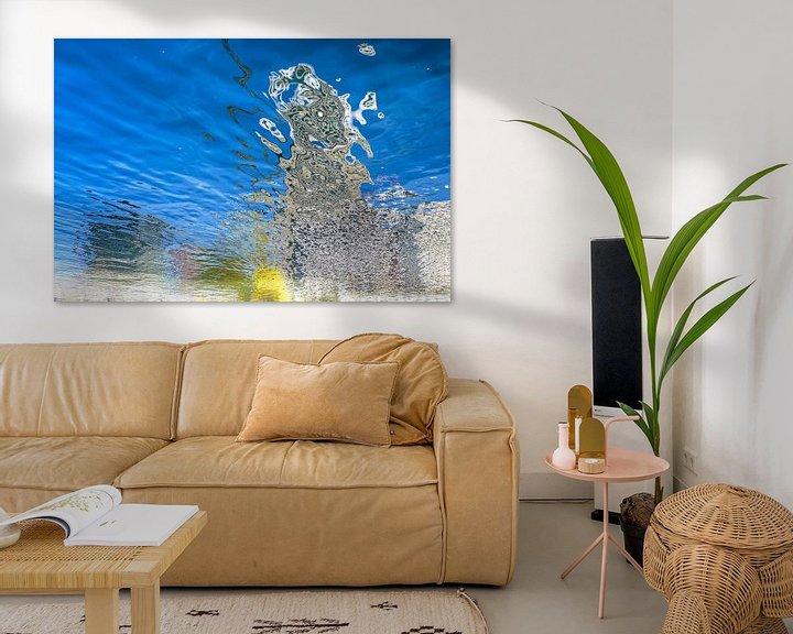Sfeerimpressie: Spiegelbeeld Wijnhaven van Frans Blok