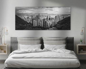 Hongkong vanaf Victoria Peak van Patrick Verheij