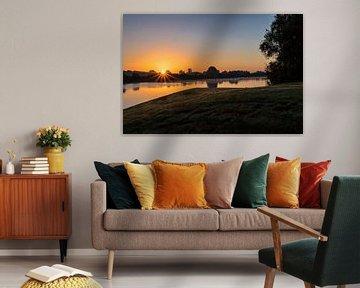 Sonnenaufgang von Ralph van Houten