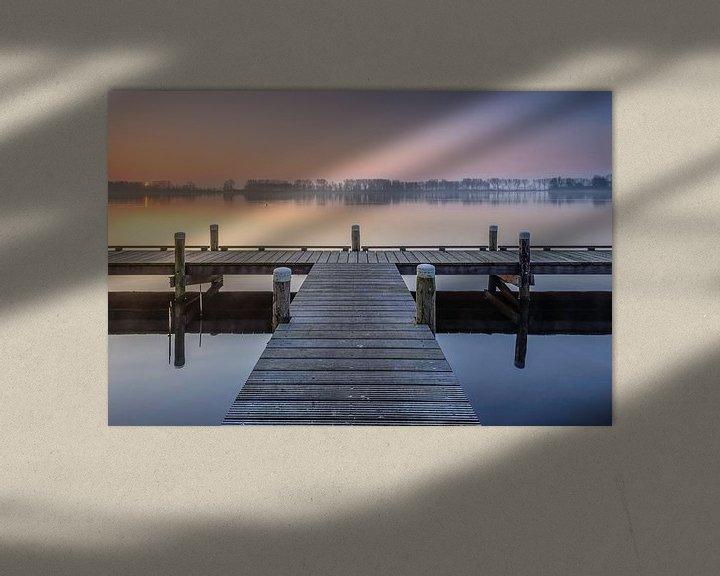 Sfeerimpressie: Spring sunrise van Martijn van der Nat