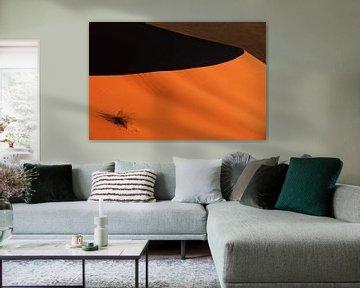 Sharp edge red sand dune van P Design
