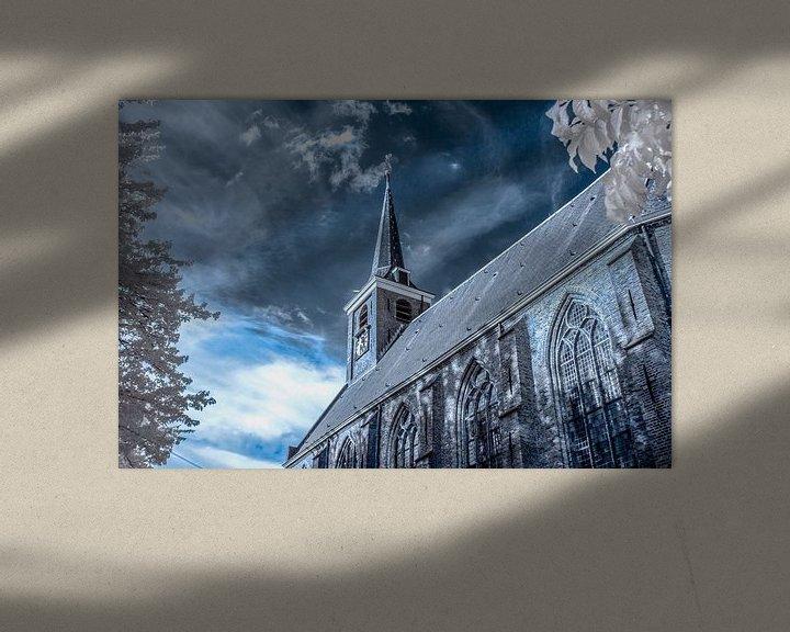 Sfeerimpressie: Dorpskerk Barendrecht van Ad Van Koppen