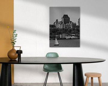 Fairmont Kasteel in Quebec van Sandra de Moree