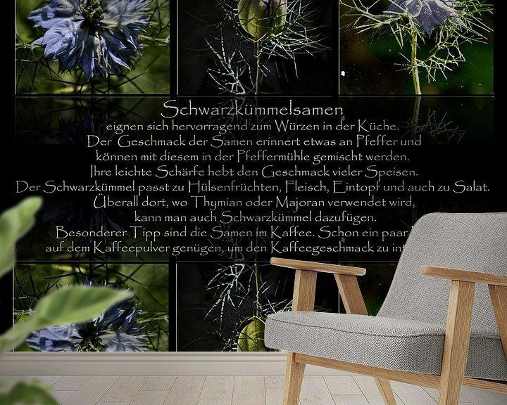 Sfeerimpressie behang: Triology - Keuken picture van Christine Nöhmeier