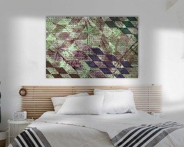 Grafisch patroon - harlekijn van Rietje Bulthuis