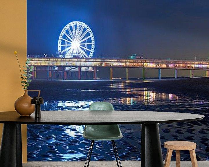 Impression: Panorama Scheveningen Pier nuit sur Anton de Zeeuw