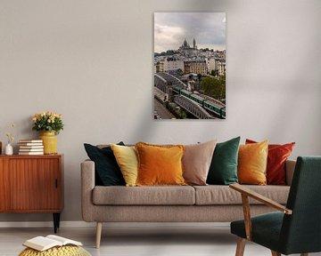 Montmartre depuis les toits  van Sébastien Béhotte