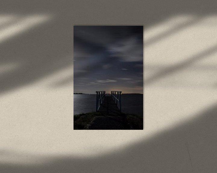 Sfeerimpressie: Steiger by night van 3,14 Photography