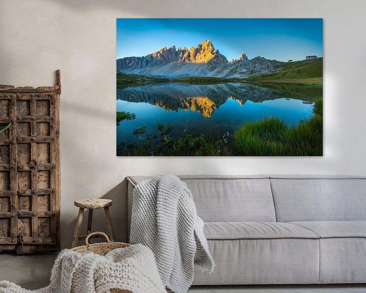 Sfeerimpressie: Ochtendlicht in de Dolomieten van Mirjam Boerhoop - Oudenaarden